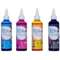 D Ink Tinta Refill Printer Epson 250 ml 4 Warna