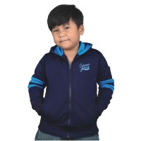 harga Jaket Hoodie anak laki diadora biru navy Catenzo Junior CYI 149 Tokopedia.com