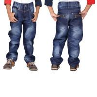 Celana Panjang Anak Laki Jeans Denim Biru Catenzo Junior CNU 130