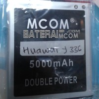 Baterai Battery Batre Double Dobel Power Huawei Y336 Y-336 Mcom 5000Ma