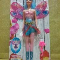 harga boneka barbie lovely angels/ fairy/peri dengan sayap lonjong/capung Tokopedia.com