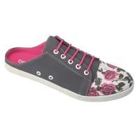 harga Sepatu Flat Raindoz RSD 001 Abu Wanita - Flats Cewek Kanvas Tokopedia.com