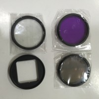 GoPro Hero 3 + 4 - 52mm Filter Kit and Lens Filter CPL UV FLD + Adapter