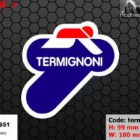 ea cutting sticker / decal Code: termignoni 3 ( sponsor logo )