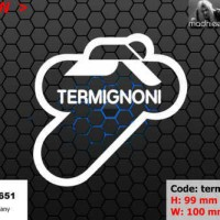 ea cutting sticker / decal Code: termignoni 1 ( sponsor logo )