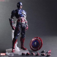 Play Arts Kai Marvel Variant Captain America | PAK Captain America