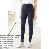 Celana Jeans Miss Black Hotty S M / Robek / Destroy