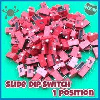 Slide DIP Switch 1 Posisi 1P Breadboard