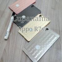 Bumper Case Miror Diamond Oppo R7s R7 s R 7s
