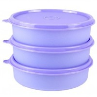 Tupperware Large Handy Bowl - 3 Pcs - Ungu