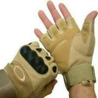 harga Sarung Tangan Biker Army Gunung Hiking Sepeda Motor Airsoft Half Glove Tokopedia.com