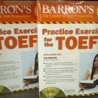 Barron's Practice Exercises FOR The TOEFL 7th Edition with answer keys