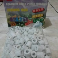 Ceramic ring Biological filter plus jaring 1kg