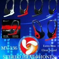 Headphone / Headset Mel-v with mic