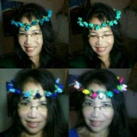 FLOWER CROWN/ Mahkota bunga ; BUNGA KUNCUP ; bando;bandana;accessories