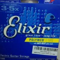 Elixir 12050 Senar Gitar Elektrik 010 Polyweb original