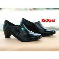 Sepatu KICKERS Pantofel Wanita Kerja Murah Kampus Kuliah Jalan Formal