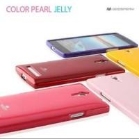 Original Mercury Goospery Pearl Jelly Case Oppo Find 7