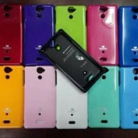 Original Mercury Goospery Pearl Jelly Case Sony Xperia V