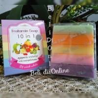 FRUITAMIN 10 in 1 SOAP by WINK WHITE ( 10 Buah dalam 1 Sabun )