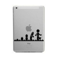 Tokomonster Decal Sticker Apple iPad Mini and Air - Lego Evolution