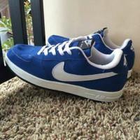 Sepatu Nike Air Force One Biru Putih Vietnam Man Cowok 40-44