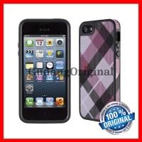 Speck FabShell Case iPhone 5 / 5s / SE - MegaPlaid Mullberry / Black