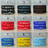 Gelang Basket Active Faith / In Jesus Name I Play