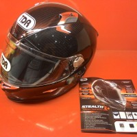 Helm TDR Stealth Carbon Real Fiber