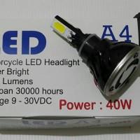 harga Lampu Motor Led 40 Watt 4 Sisi High Low Tokopedia.com