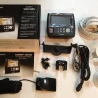 Garmin GPSMAP 585 (GPS + Fishfinder) Antenna GA-30, Transducer & Peta