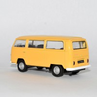 Welly 72 Volkswagen Bus T2 Yellow 1:34