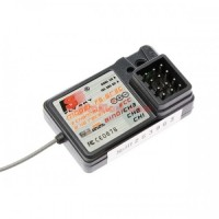 Flysky FS-GR3C FS-GR3E 3CH 2.4Ghz Receiver For FS GT3B GT2 GT3C GT2B