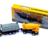 Mainan Truk Pasir + Molen Gandeng - High Quality