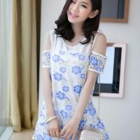 harga DRESS IMPORT/MINI DRESS/BAJU WANITA FASHION KOREA/PAKAIAN CY50596 Tokopedia.com