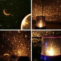 Jual lampu tidur proyektor / star master Bulan bintang Murah