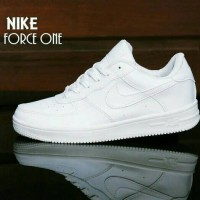 Sepatu NIKE AIR FORCE ONE FULL PUTIH / WANITA Casual Sport