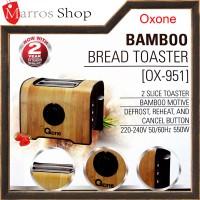 Pemanggang Roti Bamboo Bread Toaster Oxone OX-951 550W Promo