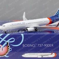 1/400 B737-900ER Sriwijaya Air