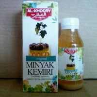 Minyak Kemiri Plus Zaitun Al Khodry Gold Atasi Kebotakan Dan Rambut