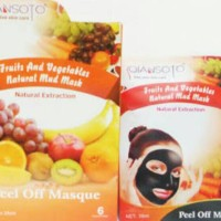 Qiansoto Peel Of Masque Fruits and Vegetable Natural Mud Mask
