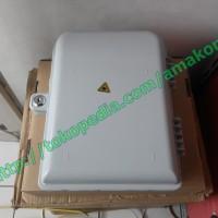 Fiber Distribution Box / Dp Optik / Odp Sc 16 Core Lengkap