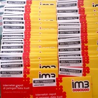Kartu Perdana IM3 INDOSAT ooredoo | Nomor IM3 Sim Card m3 Pulsa 5000