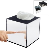 GoPro Tissue Box Mirrored Hidden Camera Case Home Security kotak tisu