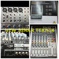 harga Mixer Behringer Qx1204usb 4 Channel Mono 2 Stereo Dgn Usb Interface Tokopedia.com