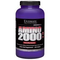 AMINO 2000 ECER (50 TABS) ULTIMATE NUTRITION