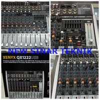 harga Mixer Behringer Xenyx Qx1222usb 6 Channel Mono 2 Stereo Dgn Equalizer Tokopedia.com