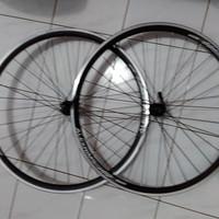 Wheelset Alloy Alexrims G6000 Hitam New