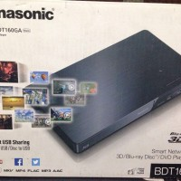 Panasonic Smart Network 3D Blu-ray Disc DVD Player DMP-BDT160