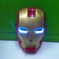 Jual topeng ironman nyala lampu led ( avengers ) Murah